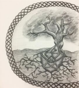 Tree of Life Drawing