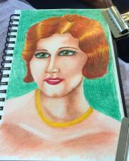 1920s Flapper Portrait
