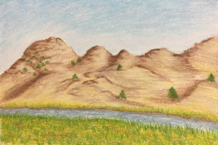 Wyoming Mountains Landscape
