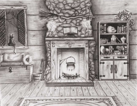 The Witch's Cottage, Jessica Jewett