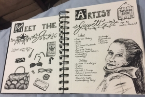 Meet the Artist, Inktober