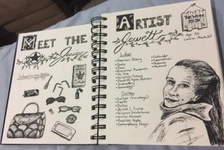 Meet the Artist, Inktober