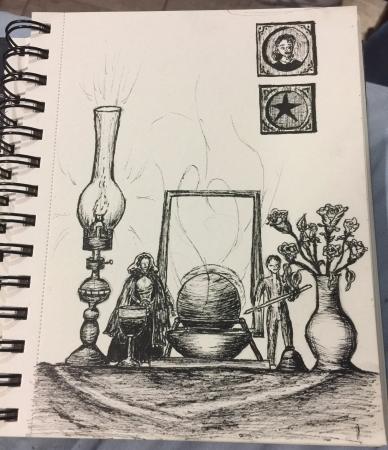 Pagan Altar, Inktober