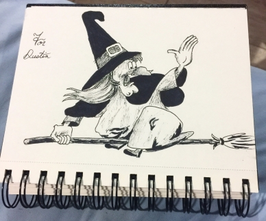 Witch Hazel, Inktober