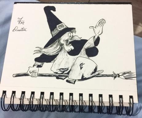 Witch Hazel, Inktober