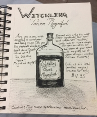 Witch Potion, Inktober