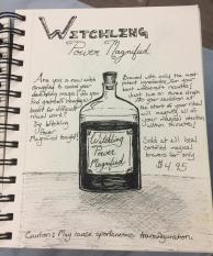 Witch Potion, Inktober