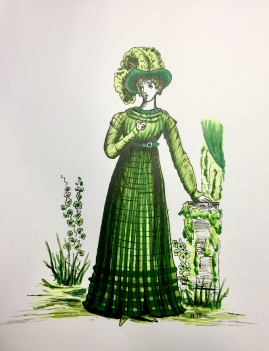 #CopicColors Miss March, Jessica Jewett