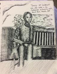 Confederate soldier spirit, Jessica Jewett