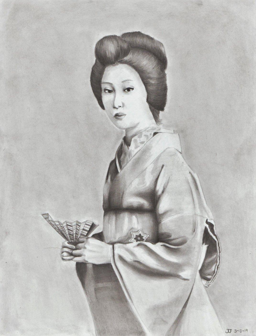 15 - Japanese Lady
